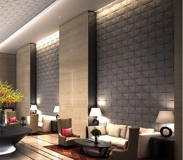 Paneles decorativos 3d modelo lotus revestimiento - Paneles decorativos 3d ...