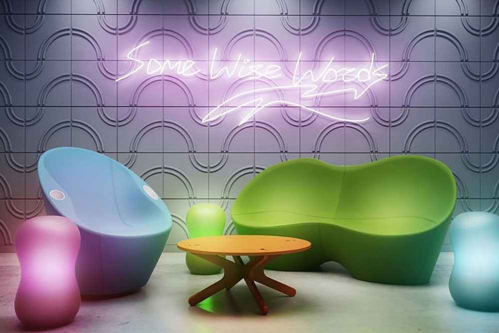 Paneles Decorativos 3d Para Paredes Arcos Material Plastico ...