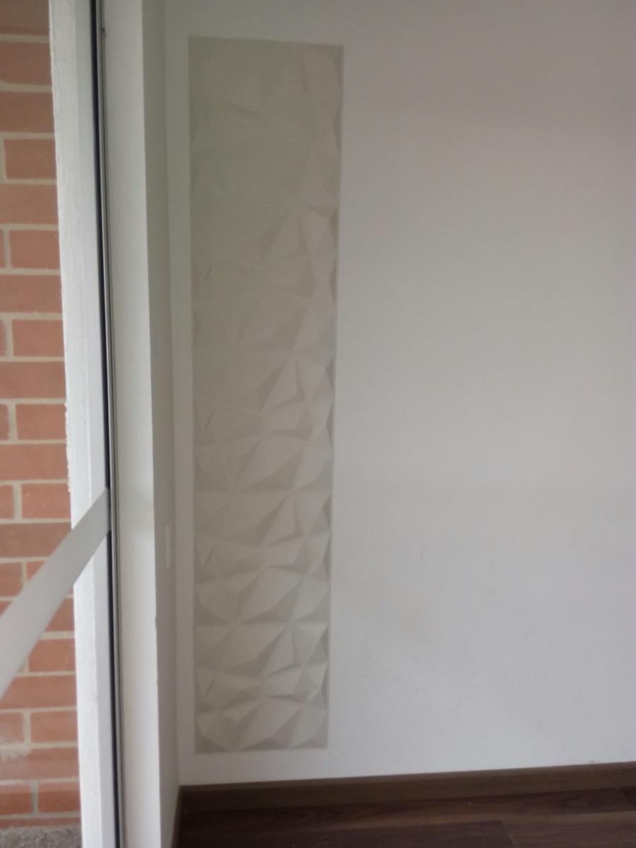 Paneles decorativos 3d para paredes diamante en plastico - Frisos decorativos para paredes ...