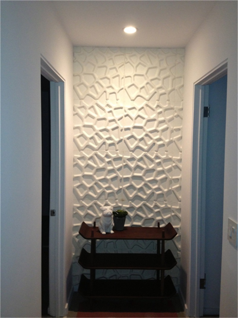 Paneles decorativos 3d pared pvc panel 4 en - Paneles 3d para pared ...