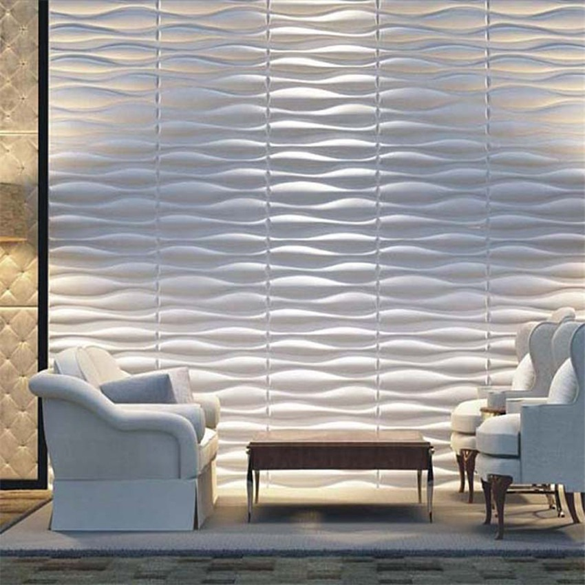 Paneles decorativos 3d pared pvc panel en - Paneles 3d para pared ...