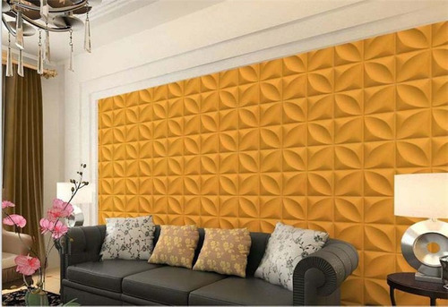 Paneles decorativos 3d pared pvc panel 4 en - Paneles aislantes decorativos ...