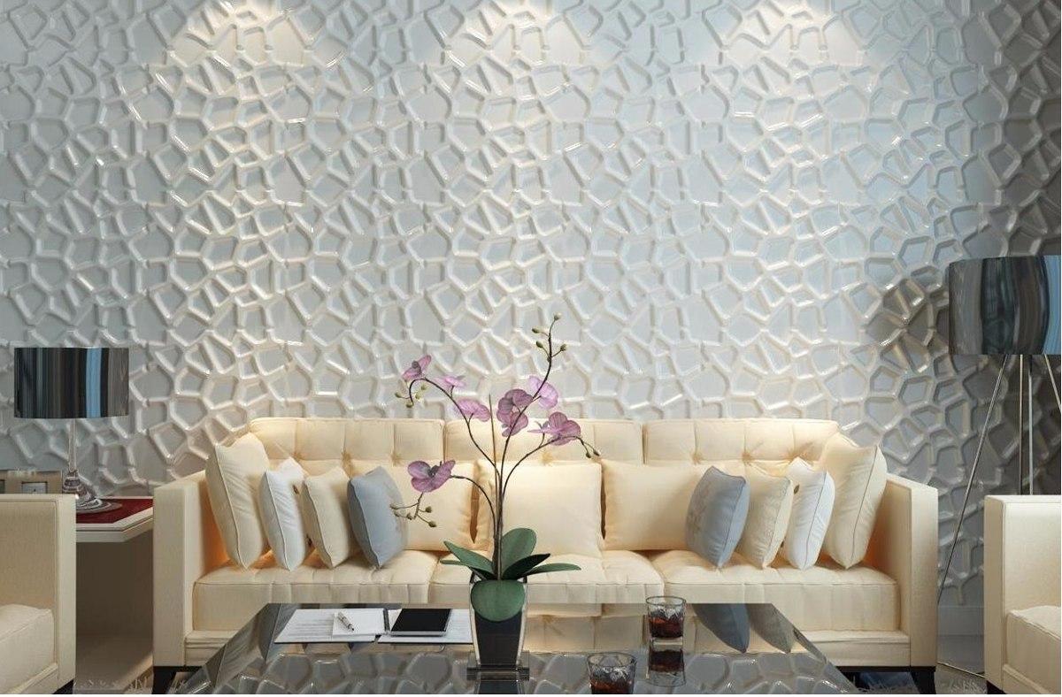 Paneles decorativos para pared good paneles decorativos d for Placas decorativas paredes interiores