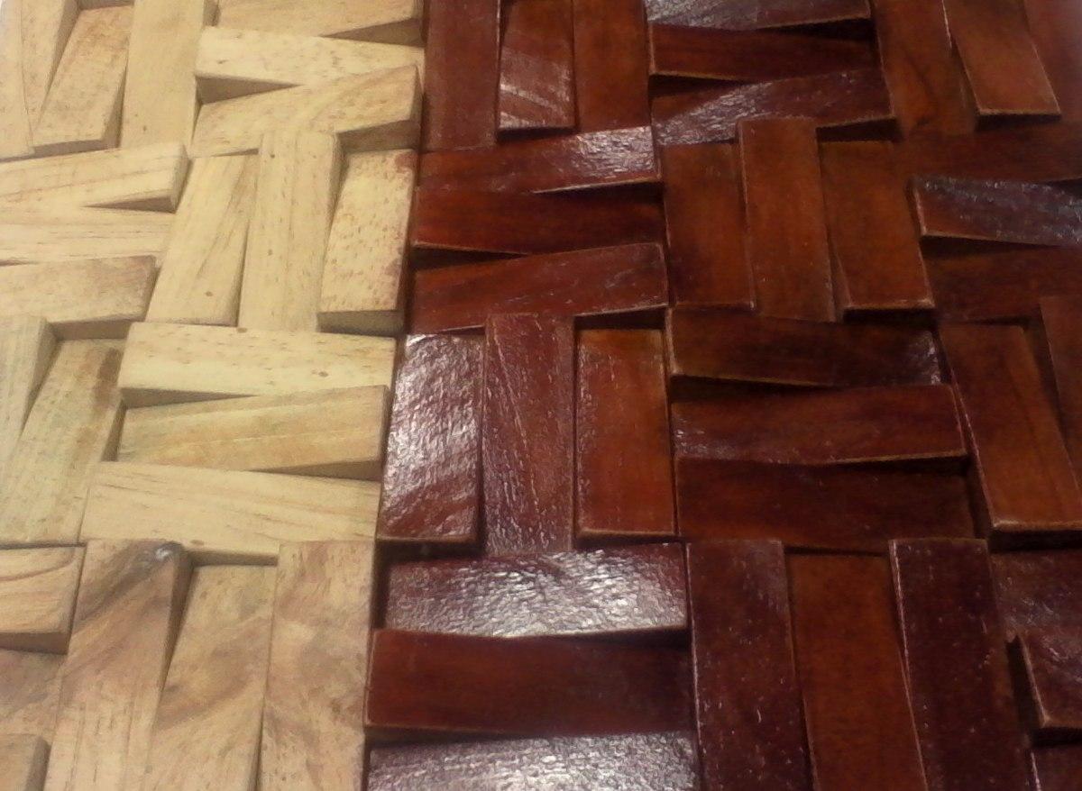 De paredes madera perfect zocalos y de paredes with de - Techos decorativos de madera ...