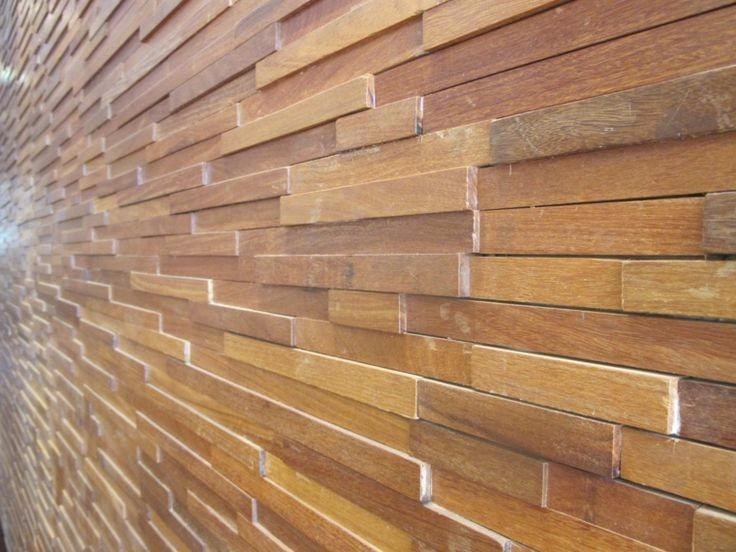 Paneles decorativos 3d revestimientos de paredes bs en mercado libre - Paredes en madera ...