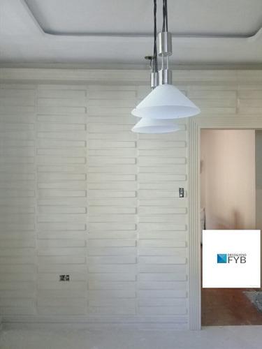paneles decorativos en yeso 3d