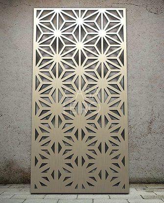 paneles decorativos madera mdf routeado cnc 80x125cm 1m2 - Panel Decorativo Madera