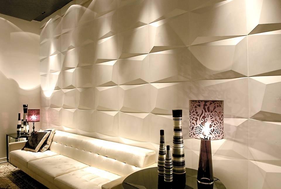 Paneles Decorativos Revestimiento De Pared 3d Antihumedad 28341 - Paneles-para-paredes-interiores