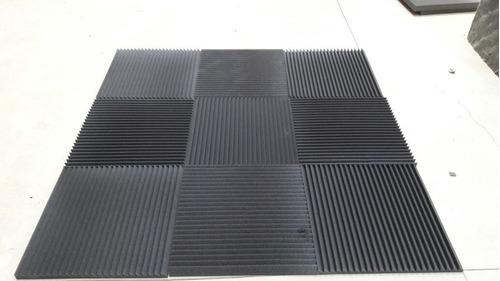 paneles placas acústicos alpine basic 50x50cm x30mm espesor