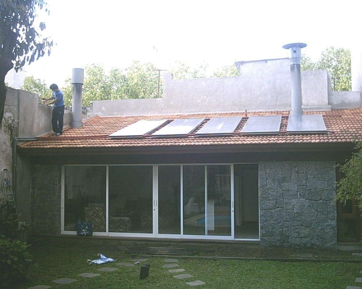 Paneles Solares De Calentar Agua Casas Industrias Y