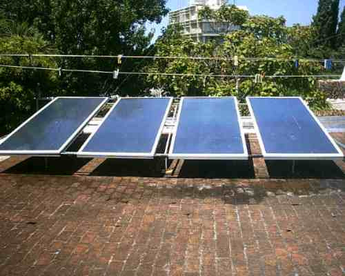 Paneles solares de calentar agua casas industrias y for Placas solares para calentar agua