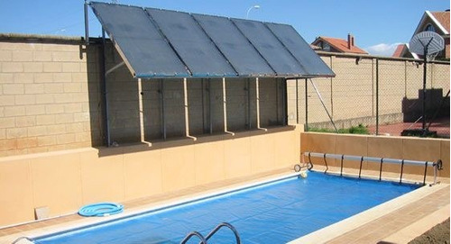 Paneles solares de temperado de piscina garant a 1 for Cuanto sale hacer una piscina en chile