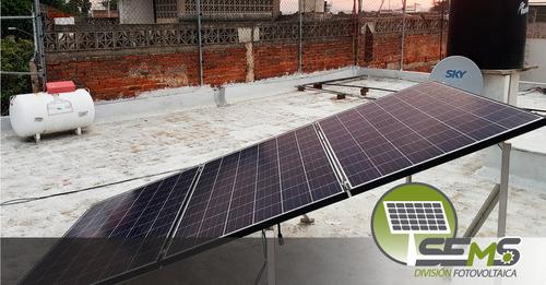 paneles solares fotovoltaicos kit de 2