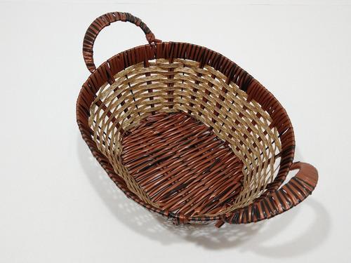 panera cesto organizador ovalada bazar pacho's