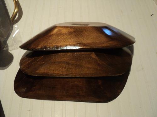 panera individual de madera lote