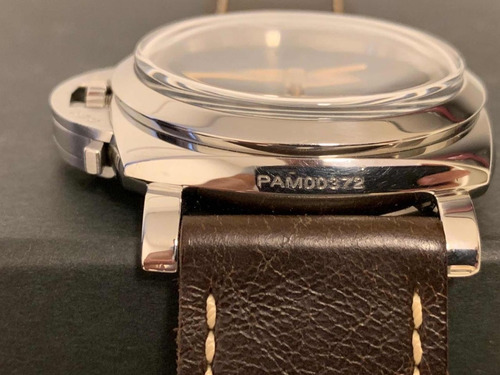 panerai luminor 47mm pam372 completo com pulseira extra