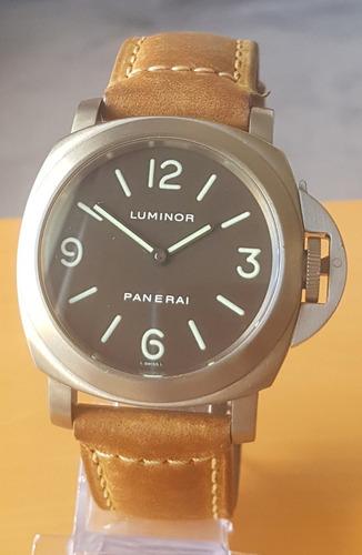 panerai luminor base titanium 44mm pam116 rolex
