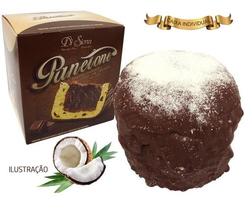 panetone recheado de coco 1kg