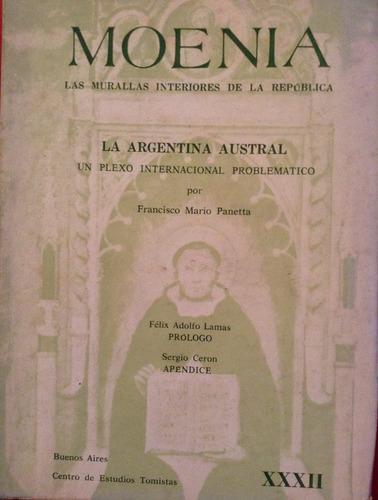panetta, francisco mario - la argentina austral. un plexo in