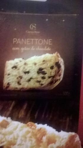 panettone gotas 500gr. cacau show