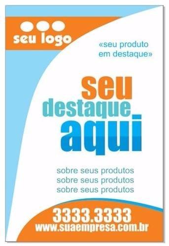 a860ff59aa Panfletos Coloridos 2500un. Frete  Grátis + Barato Do Brasil - R ...