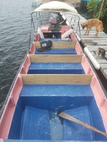 panga 8 metros de largo. 12 pasajeros