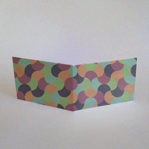 pangea billetera de tyvek abstrac