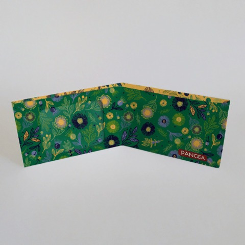 pangea billetera de tyvek flora