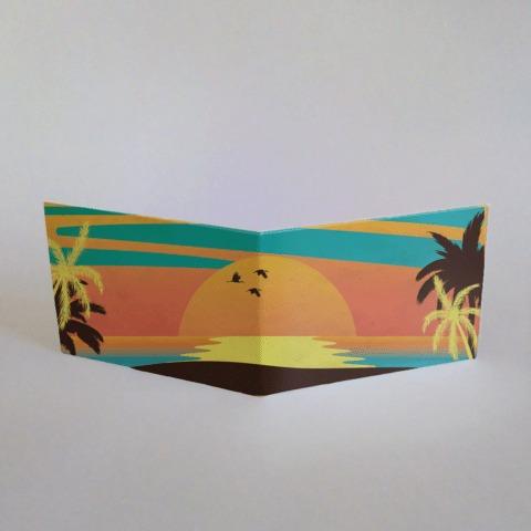 pangea billetera de tyvek playa