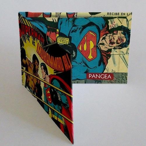 pangea superman vs ali   billetera de tyvek