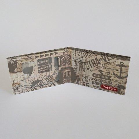 pangea travel   billetera de tyvek