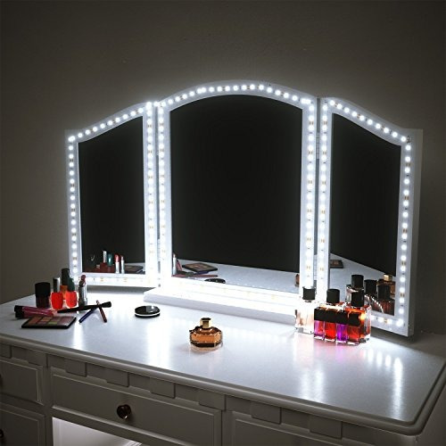 pangton villa de tocador luces del espejo kit para la mesa