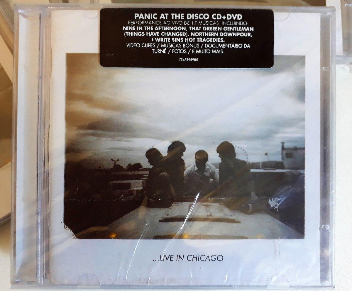 7674f63dbf Panic At The Disco Cd + Dvd - Live In Chicago Original Novo - R  139 ...