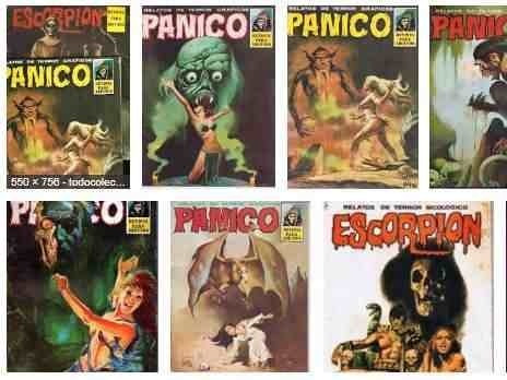 panico revista de terror adultos comic digital coleccion
