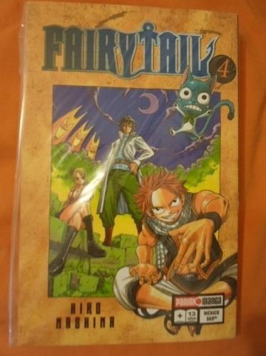 panini manga fairy tail latino tomos del 1 al 4 104000