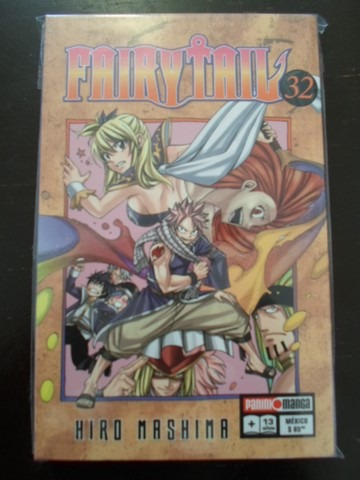 panini manga fairy tail latino tomos del 31 al 34 104000