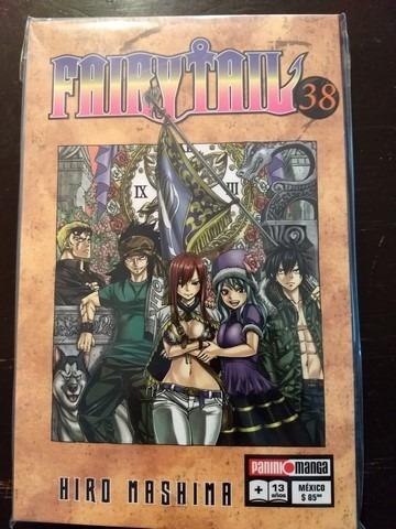 panini manga fairy tail latino tomos del 38 al 40 72000