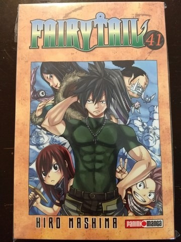 panini manga fairy tail latino tomos del 41 al 42