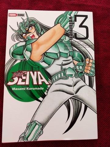 panini manga saint seiya volumen 3 al 4-  latino