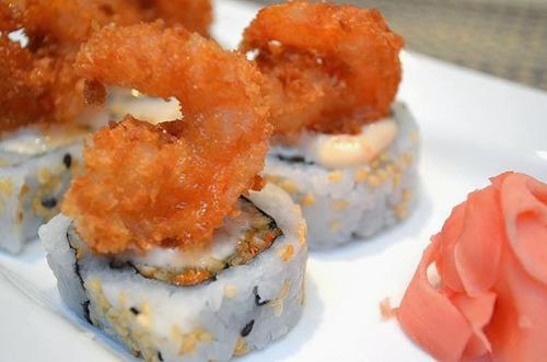 panko - tempura sushi - maki roll
