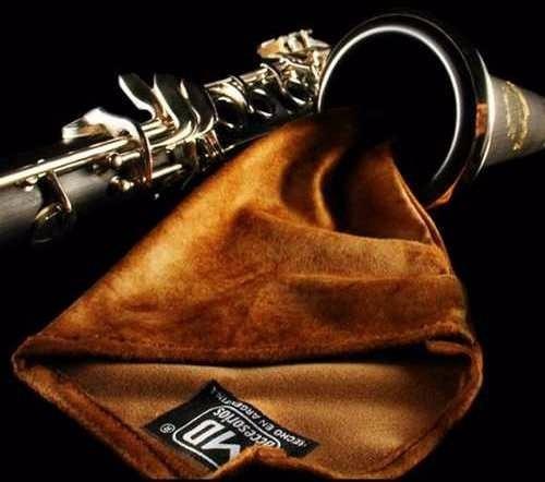 paño de limpieza para clarinete y flauta-md