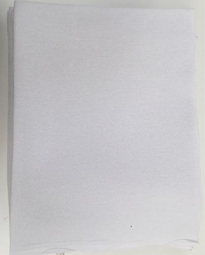pano de prato  branco pintura liso com bainha 100 unidades