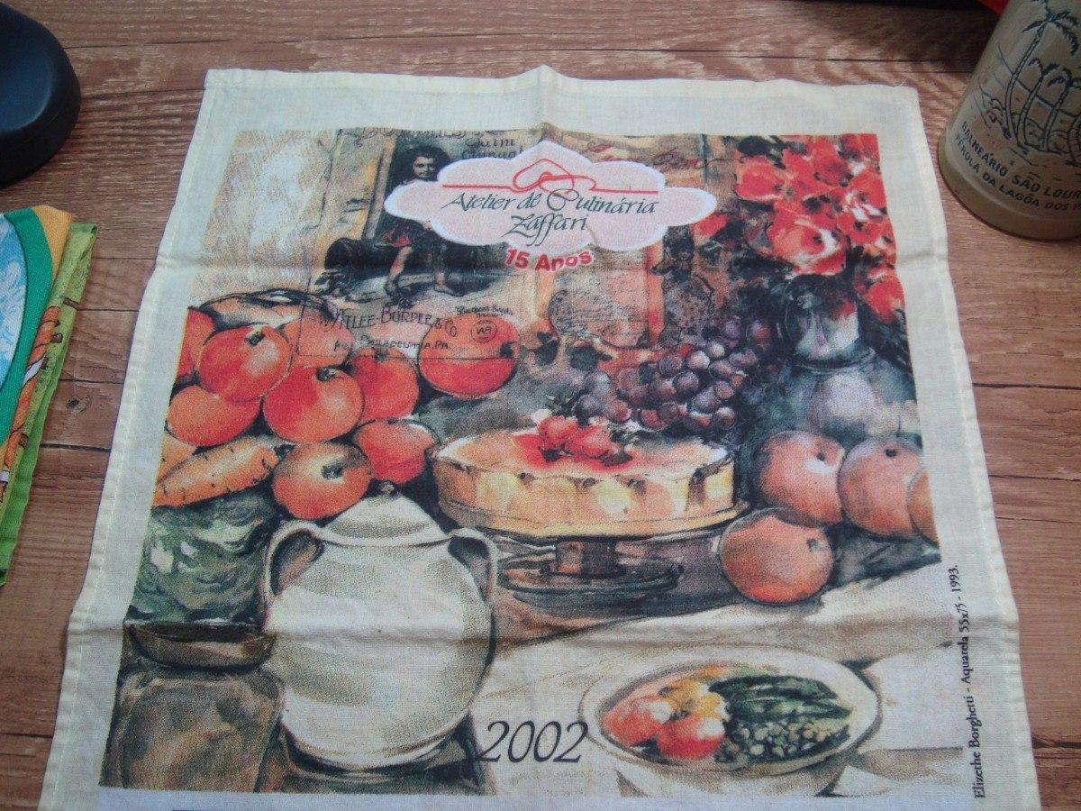 36ff19dd5b5 Pano De Prato Zaffari Bourbon 2002 - Elizethe Borghetti - R  29
