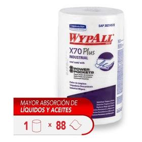 Paño Limpieza Wypall X70 Rollo Power Pocket - 88 Paños X 1ud