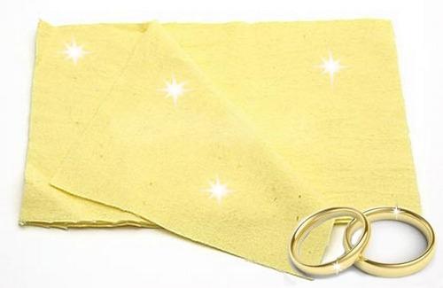 pano mágico flanela limpa joias / semi joias kit 21 unidades