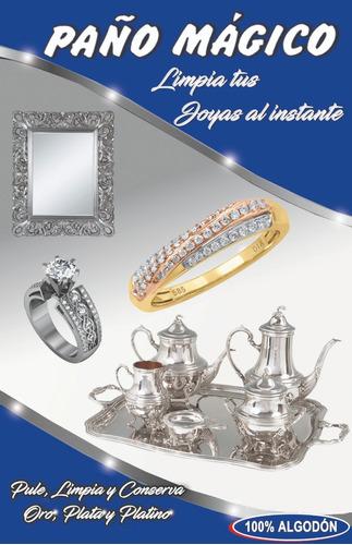 paño  magico  limpia joyas