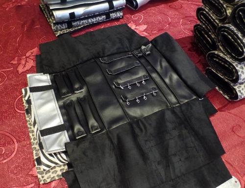 paño multi exhibidor joyas (42x26cm) terciopelo y ecocuero