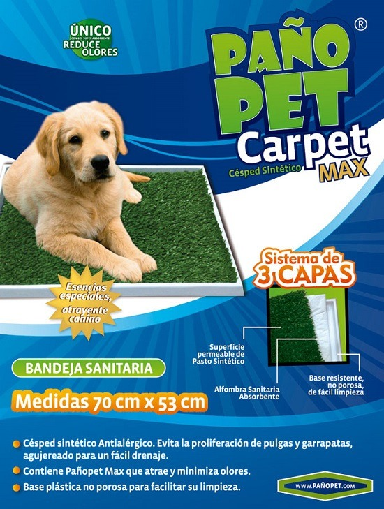 paño pet carpet max (70x53 cm) - hauspet