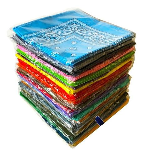 pañoleta bandana estampada colores moda