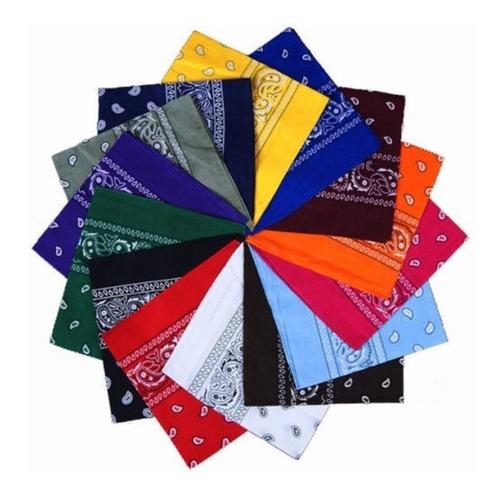 pañoletas bandanas 50 x 50 cm moto diseño a elección